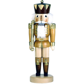 Christian Ulbricht Gold King Nutcracker